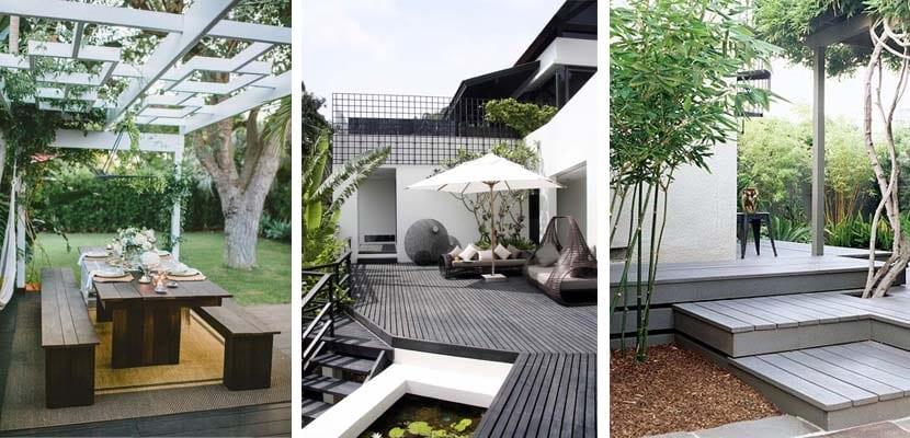 Qu suelo escojo para mi terraza o jardin - Suelo exterior madera ...