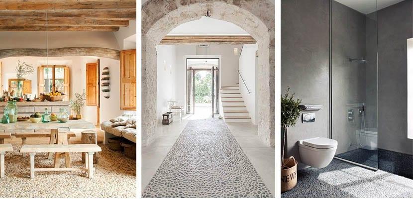 Paredes y suelos de piedra natural para tu hogar - Como colocar piedra natural ...