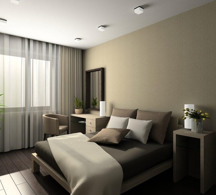 Cómo decorar un dormitorio pequeño y con poca luz