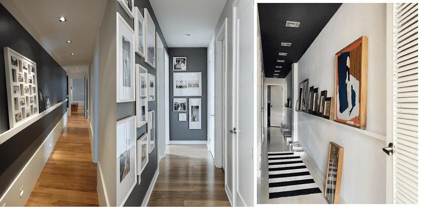 Consejos a la hora de pintar un pasillo de casa