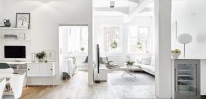 Apartamento en blanco total