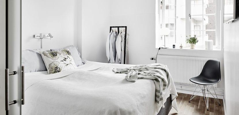 Dormitorio blanco total