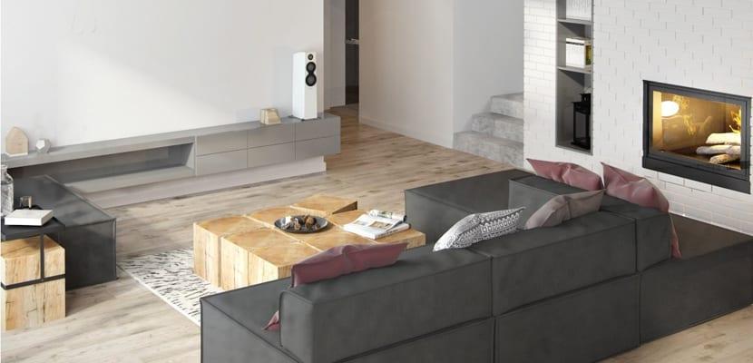 Apartamento moderno en tonos grises for Como decorar un apartamento moderno