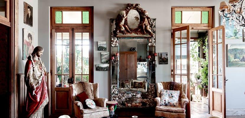 Casa en estilo ecléctico