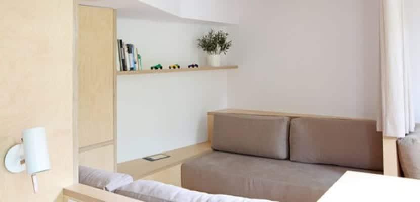 Salón en madera