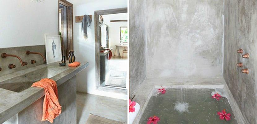 Casa en Brasil con cemento