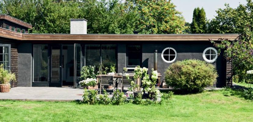Casa en color negro