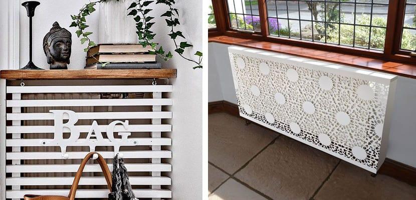 Ideas para cubrir radiadores en casa