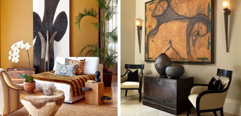 Decoraci n del hogar en estilo africano for Decoracion del hogar barato