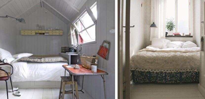 Dormitorios en estilo sobrio