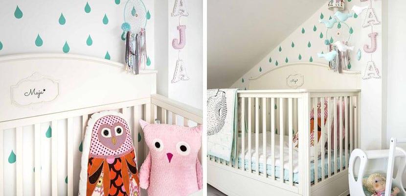 C mo decorar el dormitorio de un beb de forma neutra - Ideas para decorar el dormitorio ...