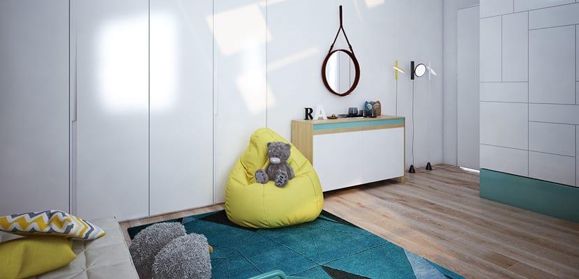 Habitación infantil moderna