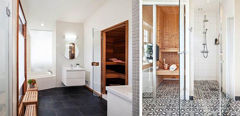 Propuestas para instalar una sauna en el cuarto de baño