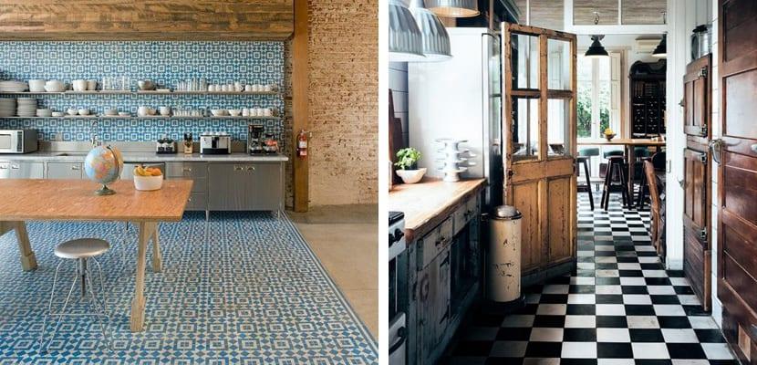 Ideas para el suelo de la cocina