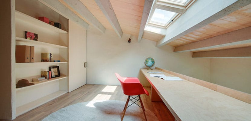 Techos con ventana para mayor iluminaci n natural - Iluminacion de techo ...
