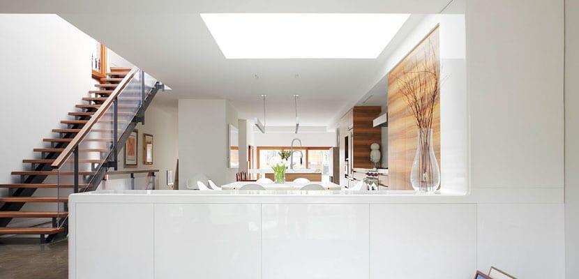 Techos con ventana para mayor iluminaci n natural for Ventana en el techo