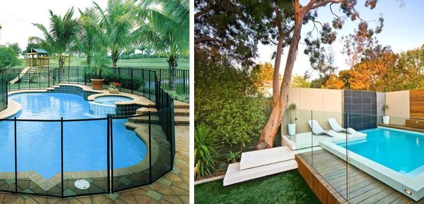 Vallas de cristal para la zona de la piscina - Piscina de cristal ...