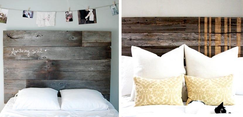 Cabeceros r sticos en madera para la cama - Cabeceros de cama rusticos ...