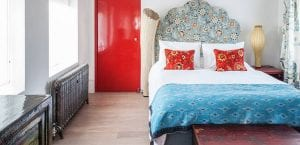 Dormitorio boho chic