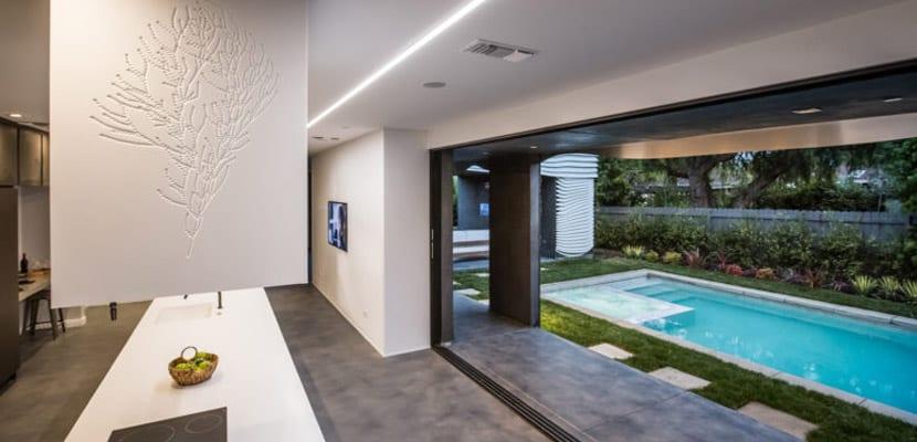Casa inspirada en el océano