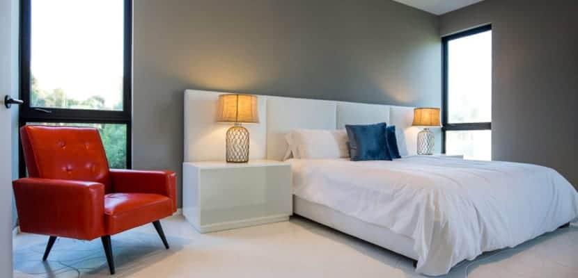 Dormitorio en estilo moderno