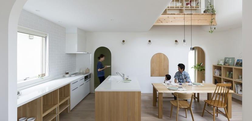 Casa japonesa en madera