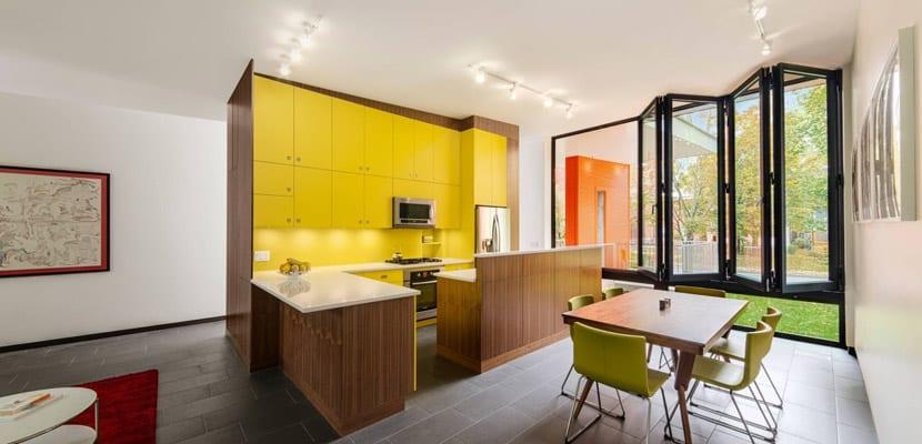 Muebles en amarillo