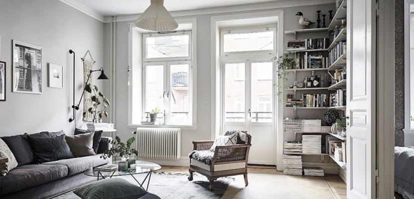 Casa en colores grises