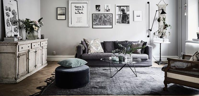 c mo decorar un hogar con textiles oto ales en color gris