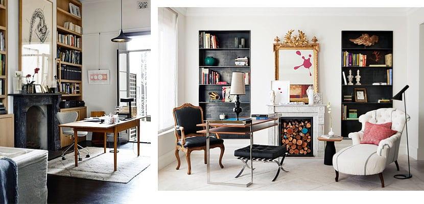 Despachos modernos en ambientes clásicos