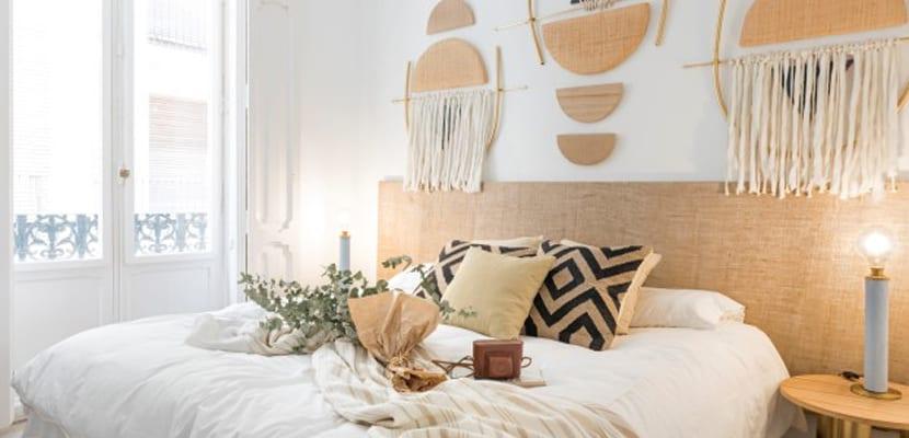 Habitación inspirada en África