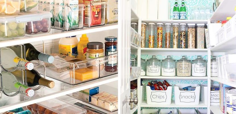 Ideas para ordenar la despensa en el hogar for Como ordenar la cocina