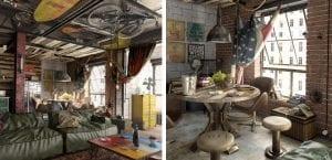 Loft industrial original