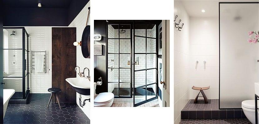 Diferentes tipos de mamparas de ducha para tu ba o - Mamparas de cristal para banos ...