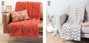 Mantas para el sofá