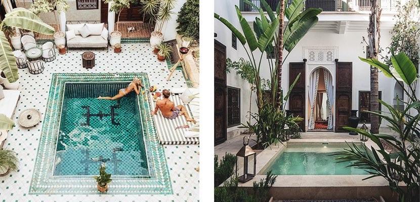 Patios exclusivos con piscina elegantes y ex ticos - Patios con piscina ...