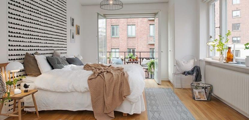 Dormitorio de otoño
