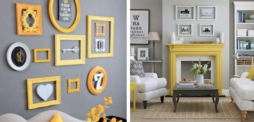 Detalles en amarillo y gris