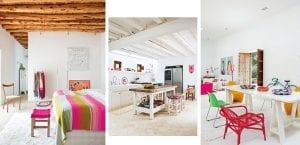 Casa colorida Ibiza