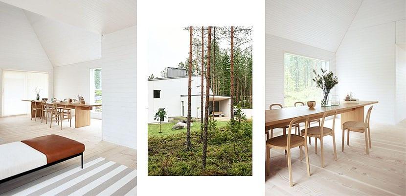 Casa minimalista en Finlandia