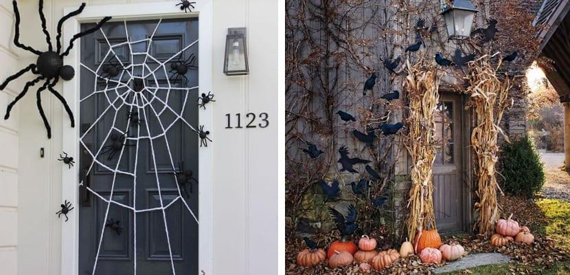 Puertas con murciélagos
