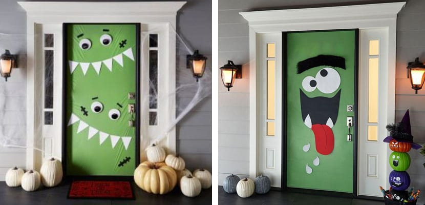 Ideas para decorar las puertas en halloween - Ideas para fiesta halloween ...