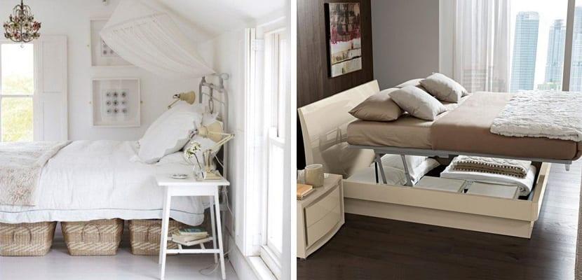Ideas pr cticas almacenaje para dormitorios peque os for Camas con almacenaje