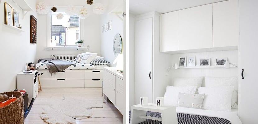 Ideas de almacenaje en dormitorios pequeños