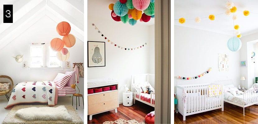 Ideas creativas para el dormitorio infantil