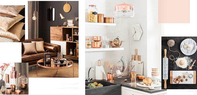 Maisons du Monde Modern Copper
