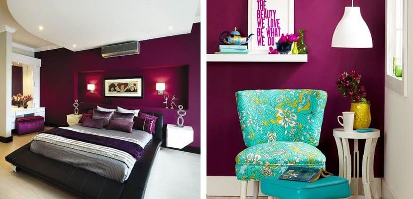 Paredes en tonos oscuros para el hogar - Combinar colores en paredes ...