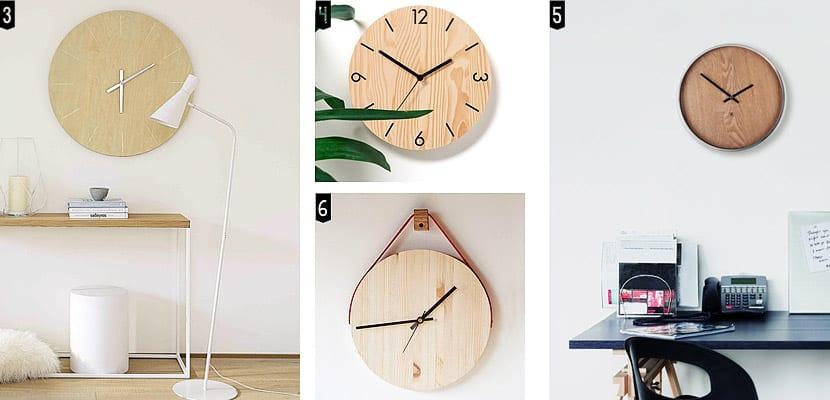 Relojes de pared minimalistas