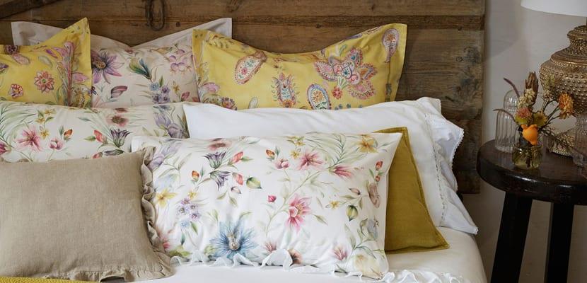 Ropa de cama floral