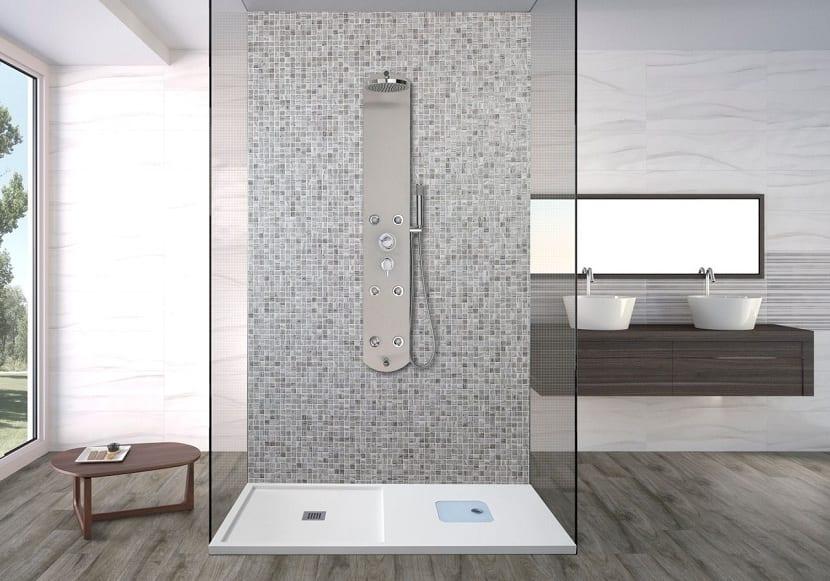 Ventajas de tener un plato de ducha en el ba o - Como limpiar el plato de ducha ...